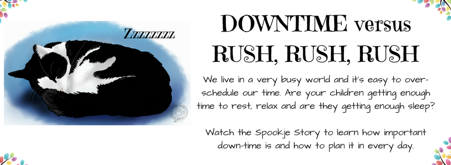 How to Make time for Downtime – and Why it is SO important: A Spookje Story